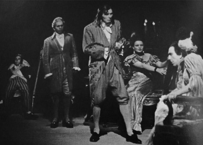 Dantons Tod - Salzburger Uraufführung