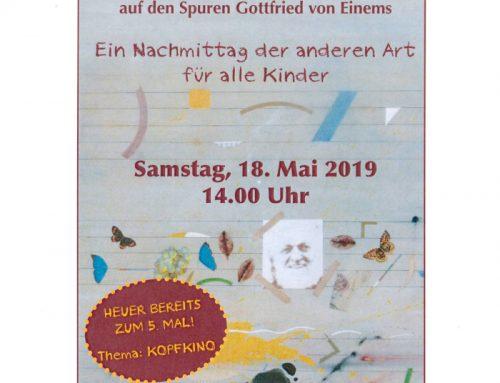 Gottfried von Einem Museum Oberdürnbach / Mai 19