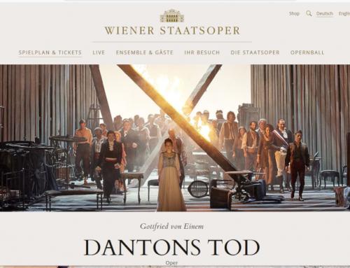 """Dantons Tod"" an der Wiener Staatsoper / Mai 19"